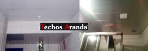 Falsos techos de aluminio en La Orotava